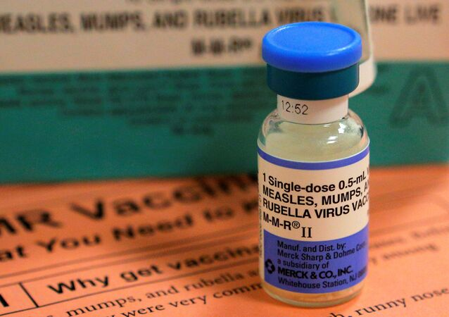 La vacuna contra el sarampión