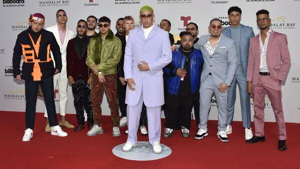 Bad Bunny, en la alfombra roja de los premios Billboard 2019 a la música latina - Sputnik Mundo