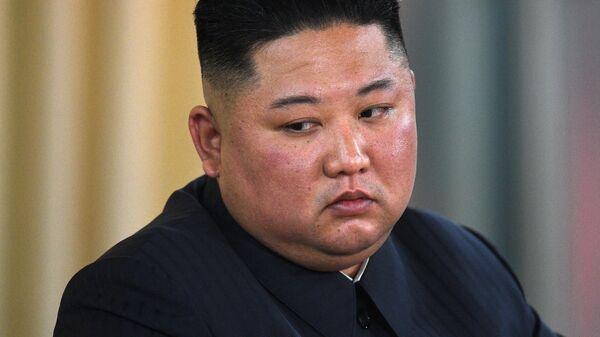 Kim Jong-un, el líder de Corea del Norte - Sputnik Mundo