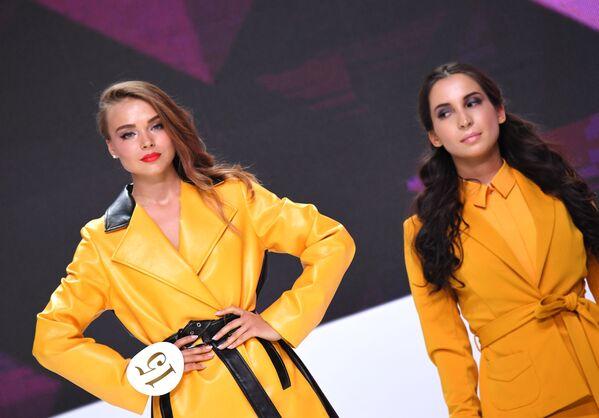 El certamen Sky Lady 2019 corona a la azafata más bella - Sputnik Mundo