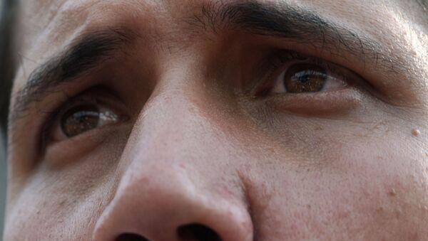 Juan Guaidó, diputado opositor de Venezuela, autproclamado presidente encargado del país - Sputnik Mundo