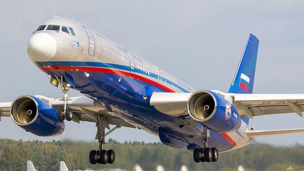 El avión ruso Tu-214ON - Sputnik Mundo