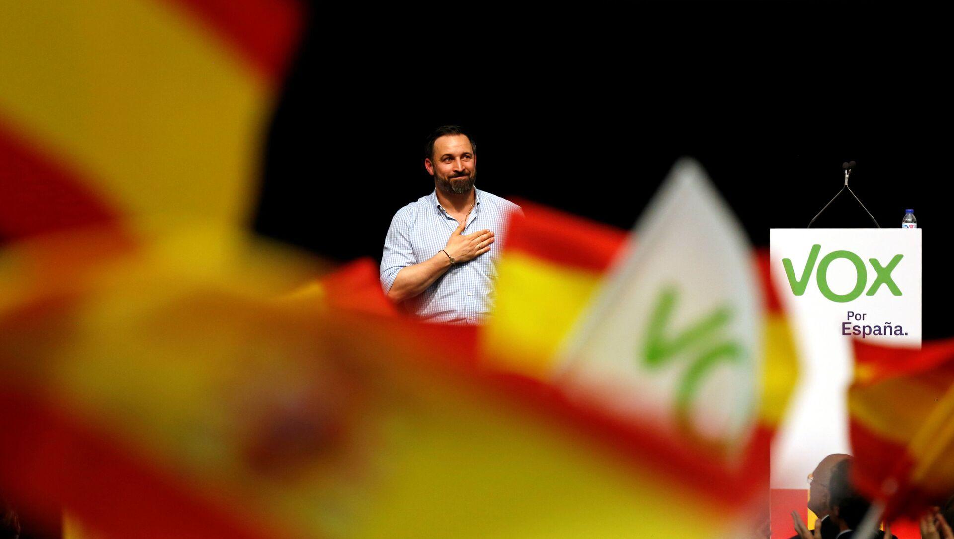 Santiago Abascal, lider del partido Vox - Sputnik Mundo, 1920, 27.04.2019