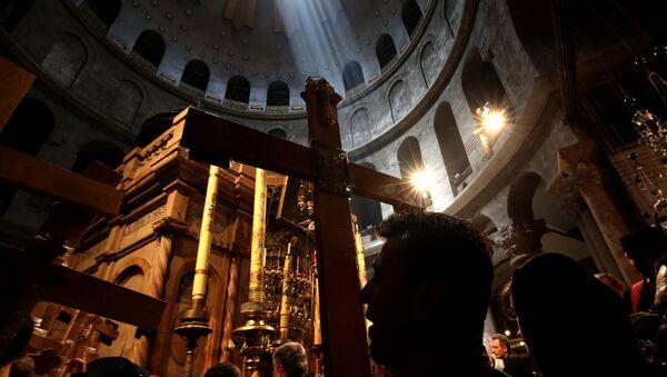La iglesia del Santo Sepulcro de Jerusalén - Sputnik Mundo