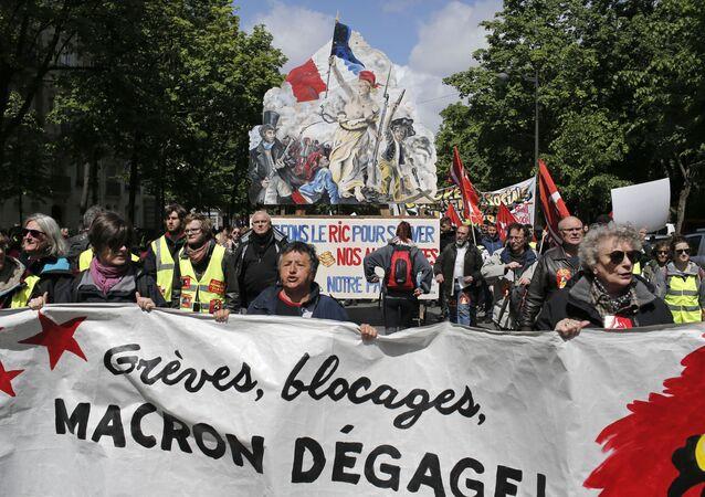 Las protestas en París en 2019 (archivo)