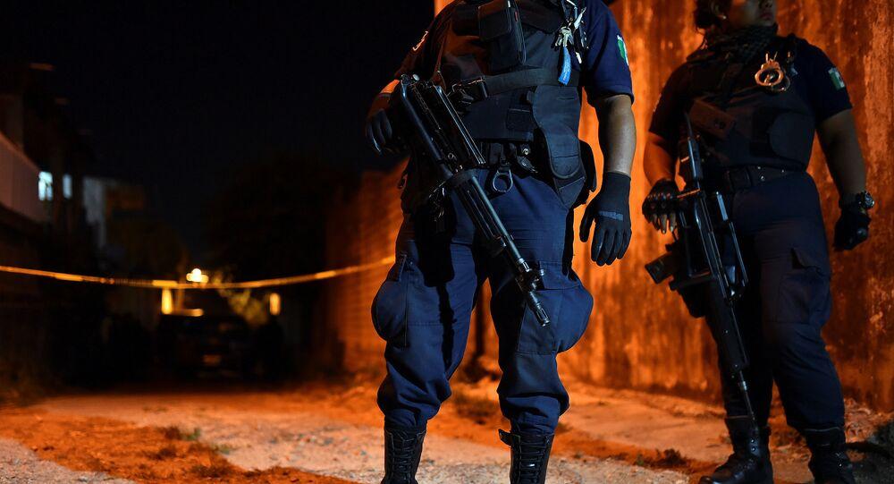 Policiales mexicanos (archivo)