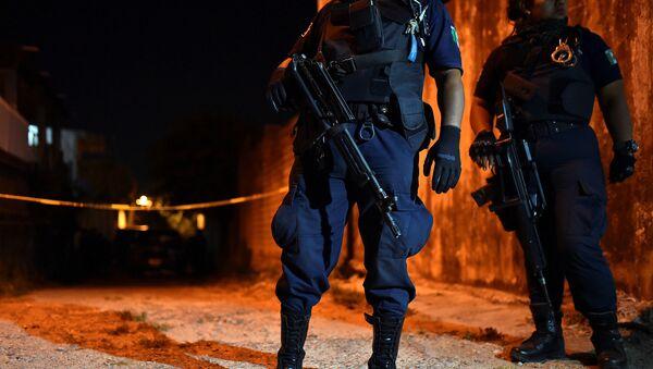Policiales mexicanos (archivo) - Sputnik Mundo