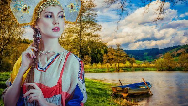 Mujer rusa - Sputnik Mundo