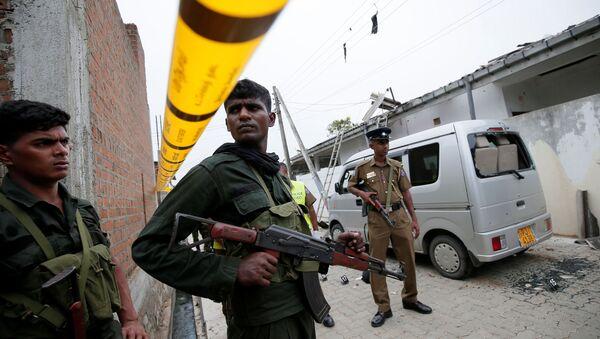 Militares esrilanqueses - Sputnik Mundo