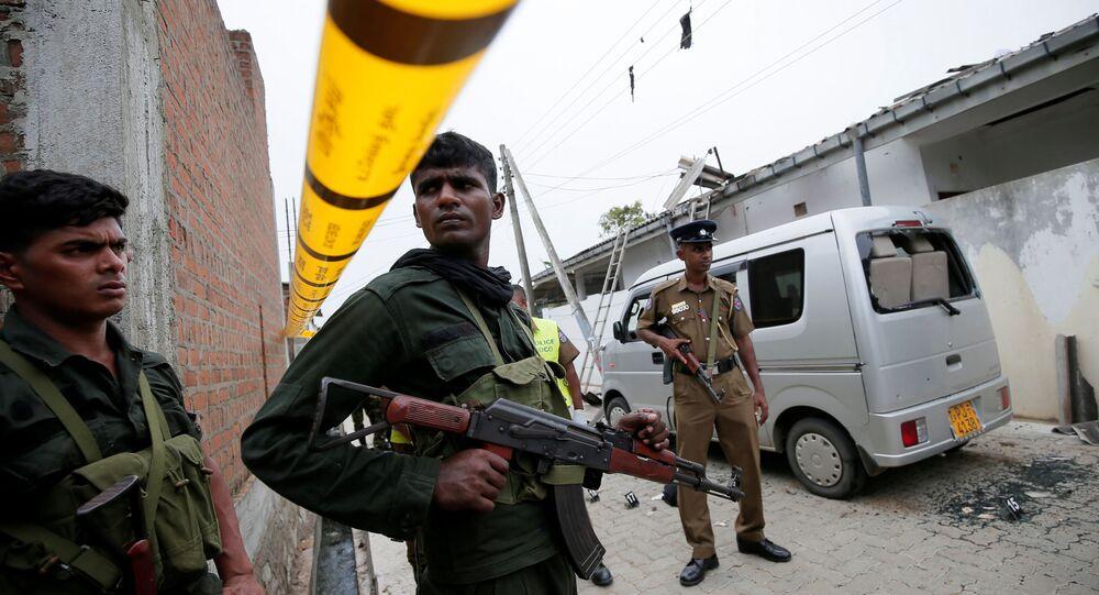 Militares esrilanqueses