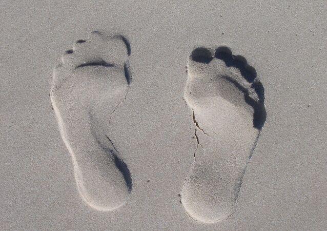 Huellas humanas (imagen referencial)