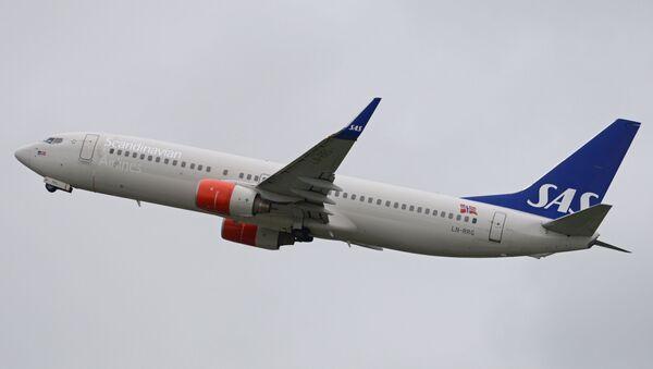 Un Boeing de Scandinavian Airlines Systems (SAS) - Sputnik Mundo