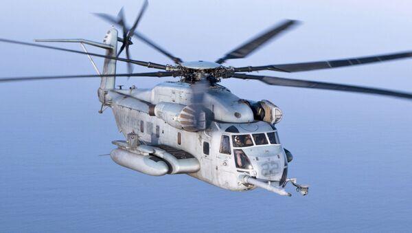 Un CH-53E Super Stallion - Sputnik Mundo