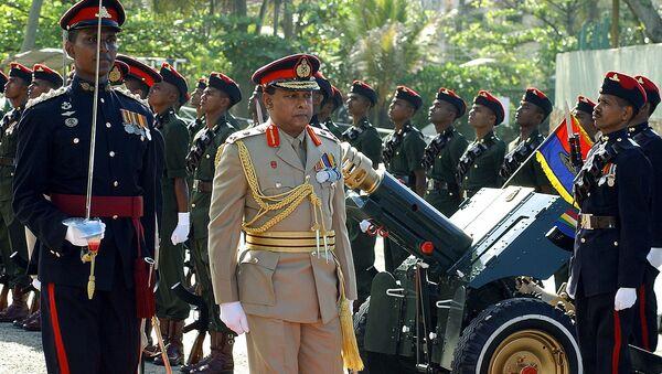 El general Shantha Kottegoda, excomandante del Ejército de Sri Lanka (archivo) - Sputnik Mundo