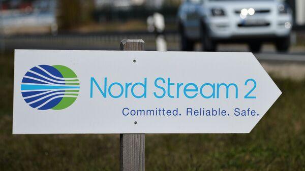 La construcción del gasoducto Nord Stream 2 en Alemania - Sputnik Mundo