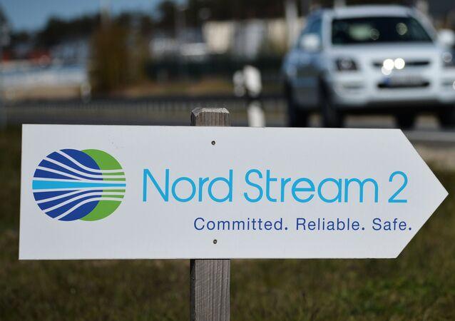 La construcción del gasoducto Nord Stream 2 en Alemania