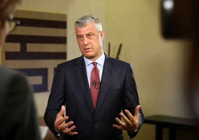 Hashim Thaci, presidente de Kosovo