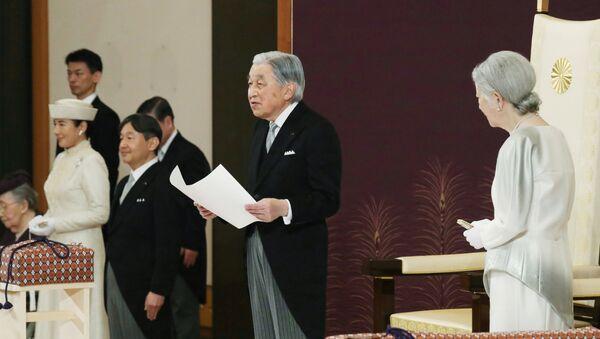 Akihito, emperador de Japón - Sputnik Mundo
