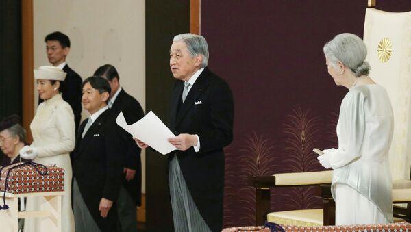 El emperador de Japón abdica - Sputnik Mundo