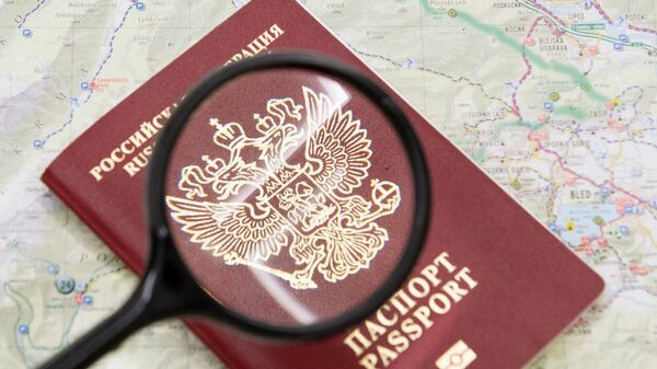 Un pasaporte ruso - Sputnik Mundo