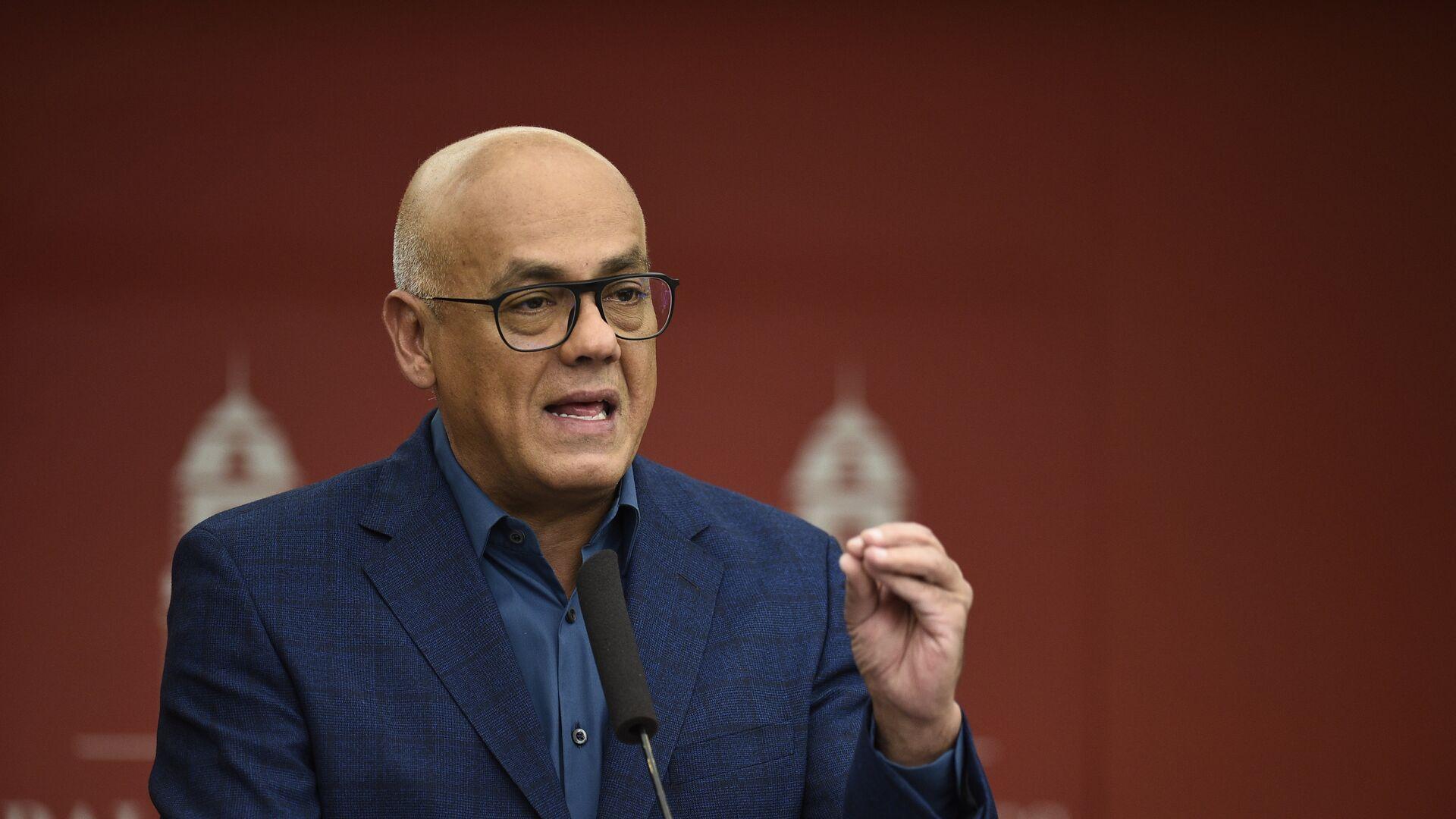 Jorge Rodríguez, ministro de Comunicación e Información de Venezuela - Sputnik Mundo, 1920, 27.04.2021