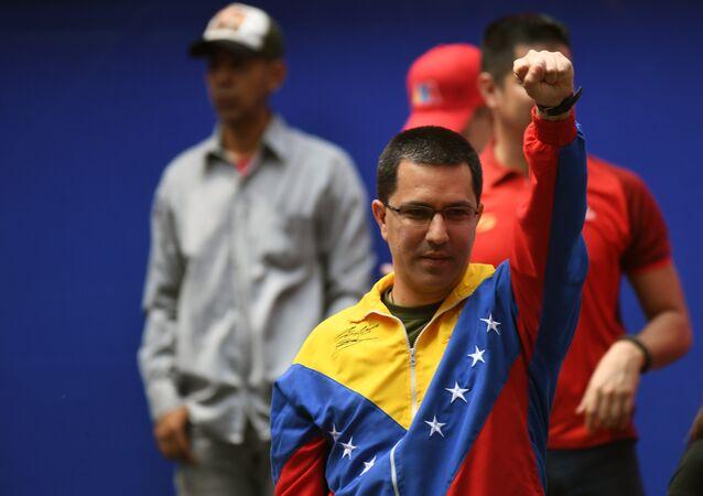 Jorge Arreaza, canciller de Venezuela (archivo)