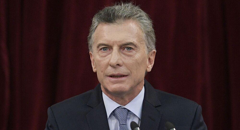 Mauricio Macri, expresidente de Argentina (archivo)