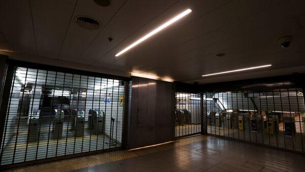El metro de Argentina cerrado durante la huelga - Sputnik Mundo