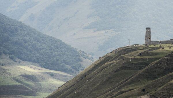 Un paisaje de Osetia del Norte - Sputnik Mundo
