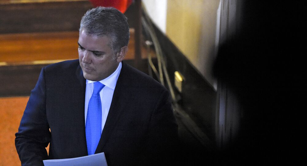 Cabello afirma que Duque está asustado por huelga general en Colombia -  Sputnik Mundo