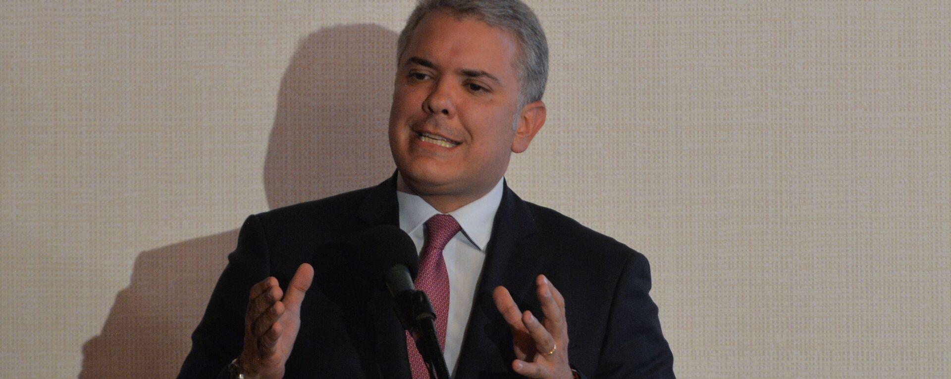 Iván Duque, presidente de Colombia - Sputnik Mundo, 1920, 06.05.2021
