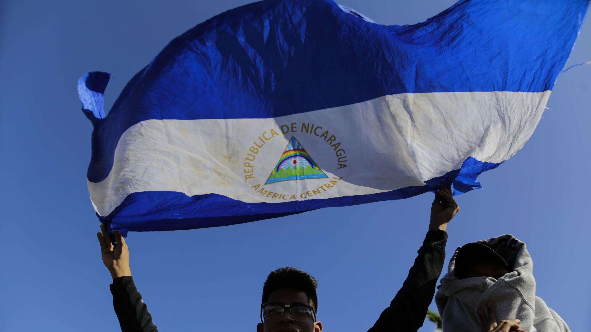 Bandera de Nicaragua - Sputnik Mundo, 1920, 17.03.2021
