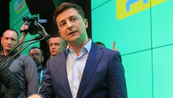 Volodímir Zelenski, presidente de Ucrania - Sputnik Mundo