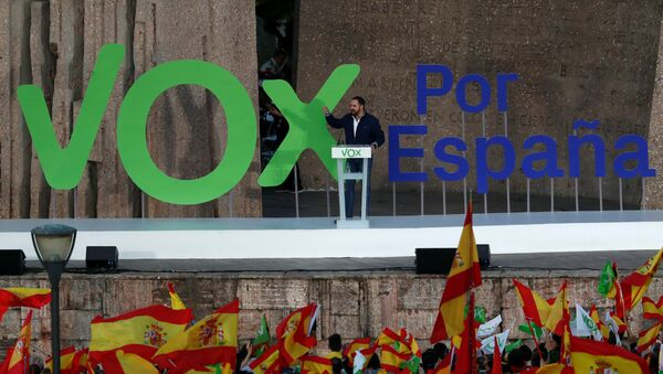 Santiago Abascal, lider del partido Vox - Sputnik Mundo