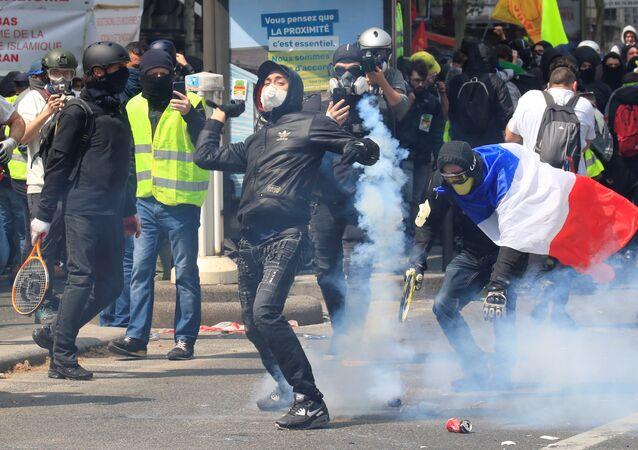 Protestas de 'chalecos amarillos'