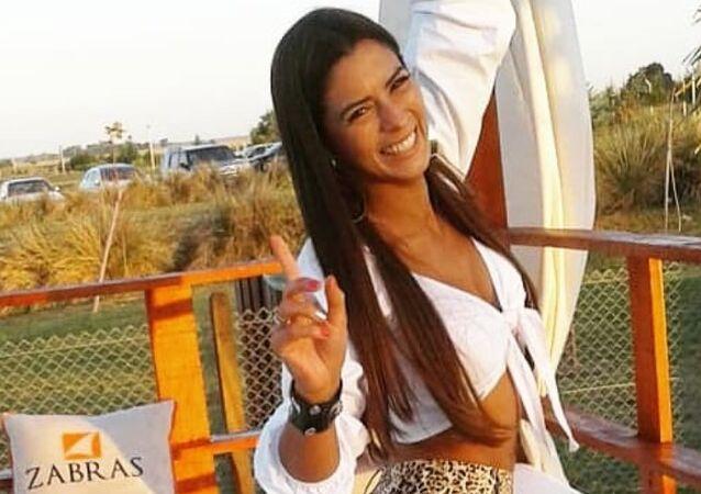 Carla Giménez, foto de archivo
