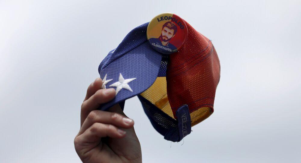 Imagen del líder opositor venezolano, Leopoldo López