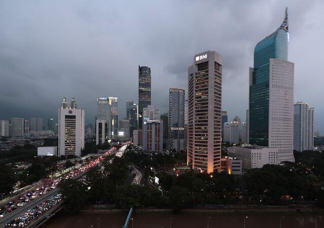 Yakarta, capital de Indonesia
