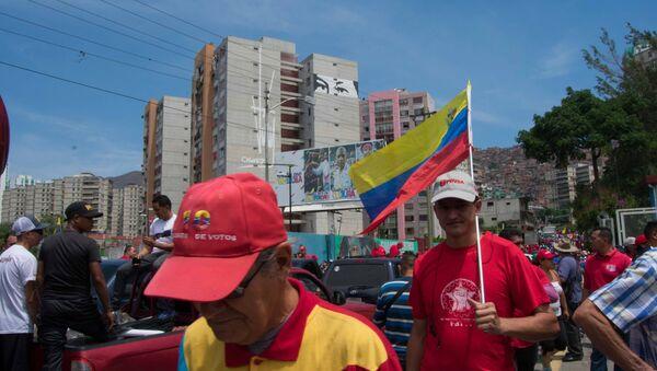 La manifestación a favor del Gobierno en El Valle, Caracas - Sputnik Mundo