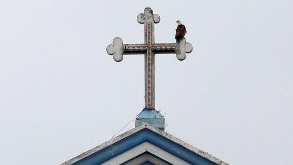 La iglesia de Santa María en Batticaloa, Sri Lanka - Sputnik Mundo
