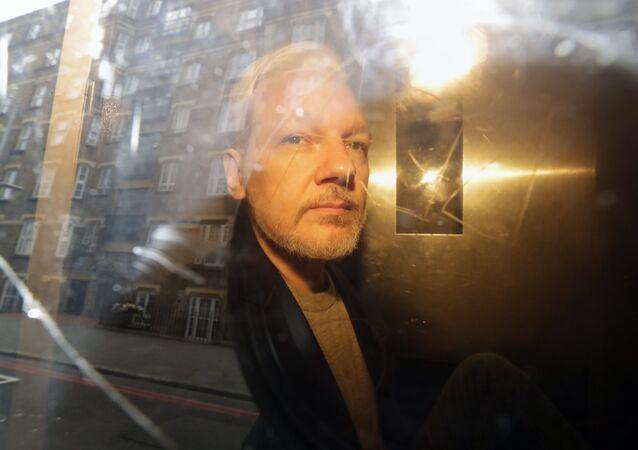 Julian Assange, fundador de WikiLeaks (archivo)