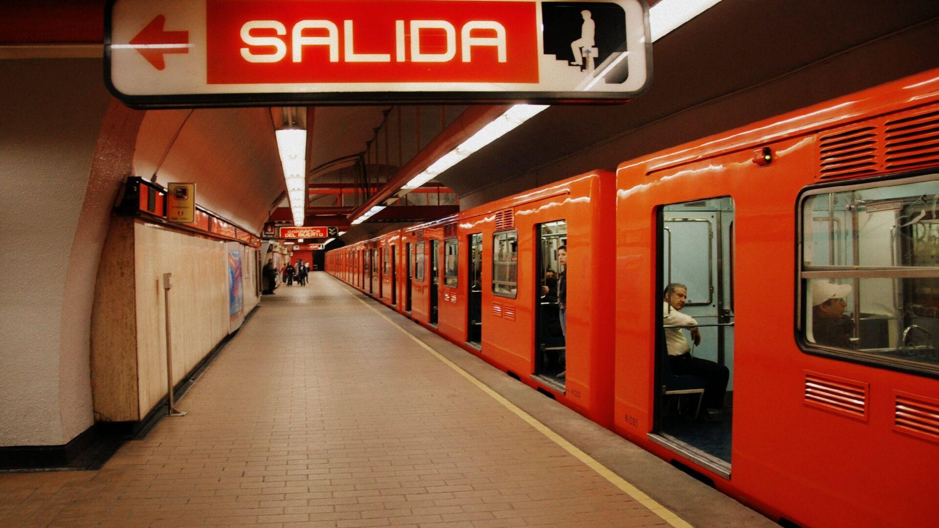La estación del metro de la Ciudad de México - Sputnik Mundo, 1920, 24.08.2021