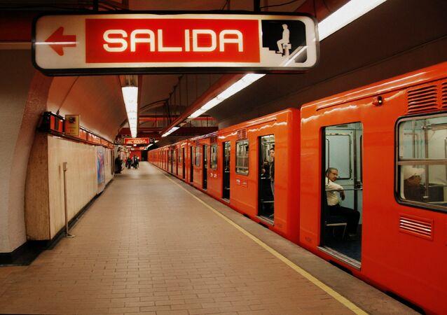 La estación del metro de la Ciudad de México (imagen referencial)