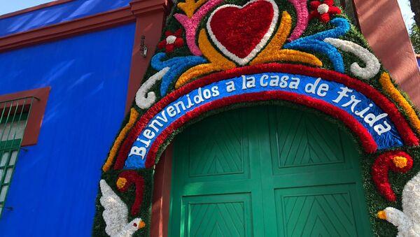 La Casa Azul, residencia de Frida Kahlo en Ciudad de México - Sputnik Mundo