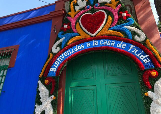 La Casa Azul, residencia de Frida Kahlo en Ciudad de México