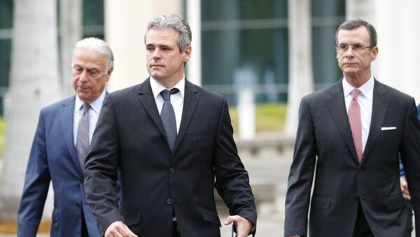 El cubano Mickael Behn, el primer demandante de la ley Helms Burton - Sputnik Mundo