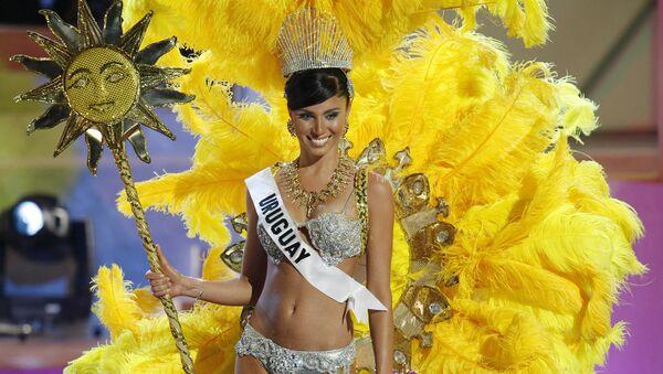 Fatimih Davila, miss Uruguay 2006 - Sputnik Mundo