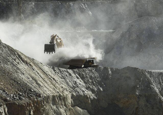 Extracción de cobre (imagen referencial)
