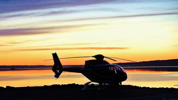 Un helicóptero (archivo) - Sputnik Mundo
