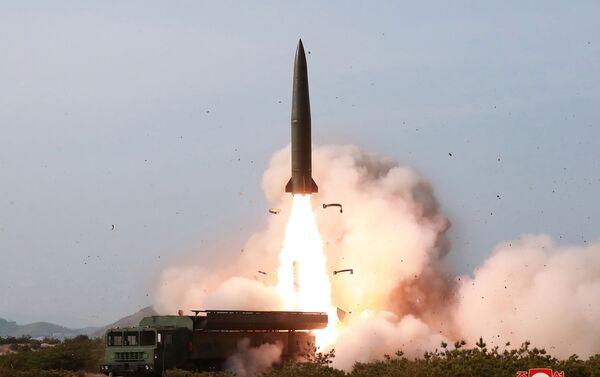 Prueba de armas de Corea del Norte - Sputnik Mundo